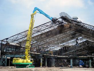 鉄骨大型倉庫